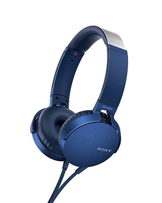 Headphones Mdr-xb550ap Extra Bass Blue