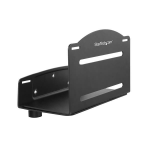 StarTech.com CPUWALLMNT CPU holder Wall-mounted CPU holder Black