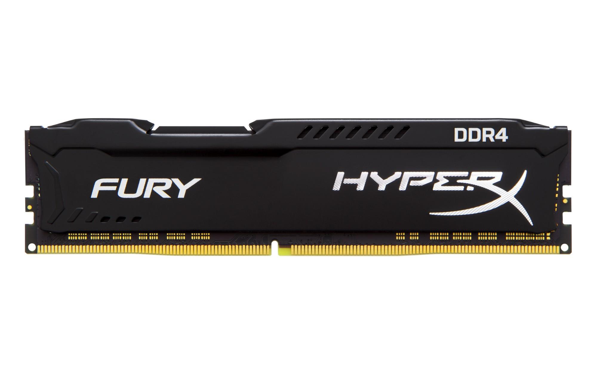 HyperX FURY Black 16GB DDR4 2933MHz memory module