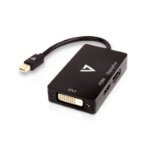 V7 Mini DisplayPort Adapter (m) to DisplayPort, HDMI or DVI (f)