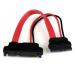 StarTech.com Adaptador Cable SATA 15cm Slimline Línea Delgada a SATA con Alimentación Corriente - Hembra a Macho