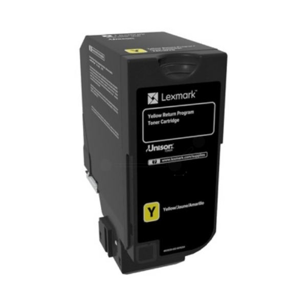Lexmark 84C2HYE Toner yellow, 16K pages