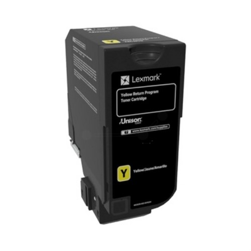 Lexmark 74C2SY0 Toner yellow, 7K pages
