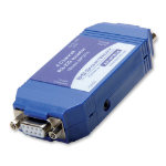 IMC Networks 9POP4 serial converter/repeater/isolator RS-232 Blue