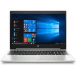 "HP ProBook 450 G7 Notebook 39.6 cm (15.6"") 1920 x 1080 pixels 10th gen Intel® Core™ i5 8 GB DDR4-SDRAM 256 GB SSD Wi-Fi 6 (802.11ax) Windows 10 Pro Silver"