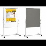 Bi-Office Mobile Duo Melamine/Felt Easel 70x120cm DD