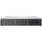 Hewlett Packard Enterprise MSA 1040 Rack (2U) Black,Stainless steel disk array