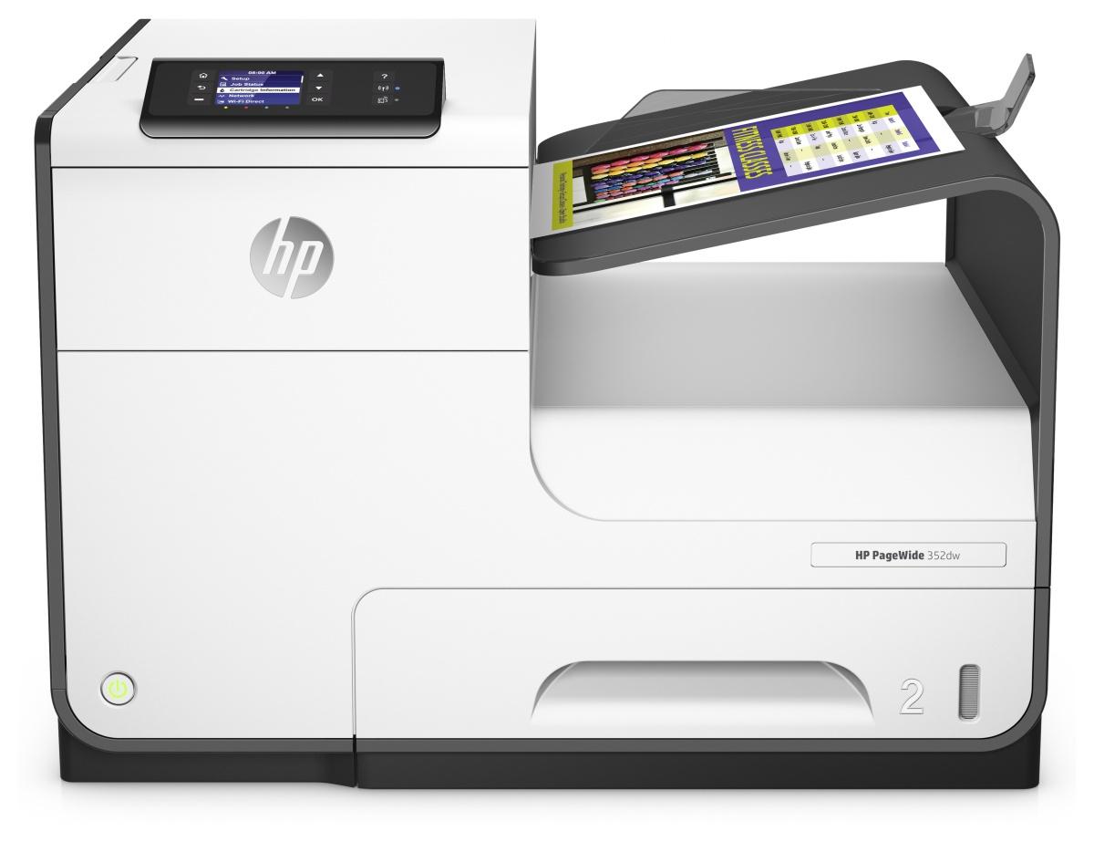 HP PageWide 352dw Colour 2400 x 1200DPI A4 Wi-Fi Black,White