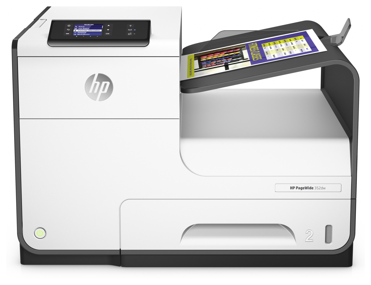 HP PageWide 352dw Colour 2400 x 1200DPI A4 Wi-Fi inkjet printer