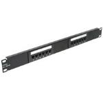 C2G Cat5E 110-type Patch Panel 12-Port 1U Patch Panel