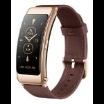 "Huawei TalkBand B6 AMOLED Armband activity tracker 3.89 cm (1.53"") IP57 Brown"