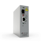 Allied Telesis AT-IMC2000T/SP-980 convertidor de medio 1000 Mbit/s 850 nm Gris