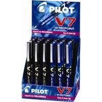 Pilot V7 HI TECPNT RB AST DSPY24 BLK/BLU