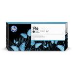 HP P2V83A (746) Ink cartridge black matt, 300ml