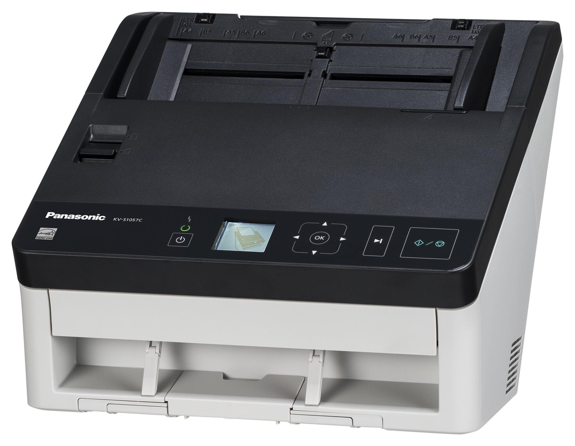 Panasonic KV-S1057C-U scanner 600 x 600 DPI ADF scanner Black,White A4