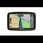 """TomTom Start 62 navigator Handheld/Fixed 15.2 cm (6"""") Touchscreen 280 g Black"""
