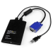 StarTech.com KVM Console to Laptop USB 2.0 Portable Crash Cart Adapter with File Transfer & Video Capture