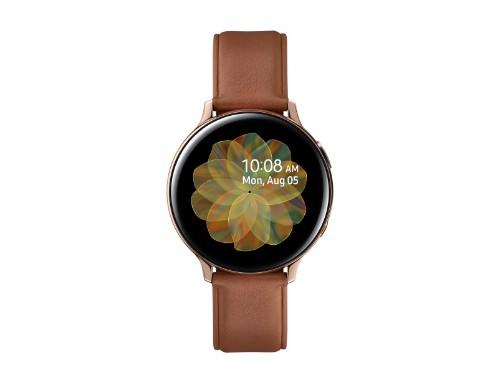"Samsung Galaxy Watch Active 2 smartwatch Gold SAMOLED 3.43 cm (1.35"") Cellular GPS (satellite)"