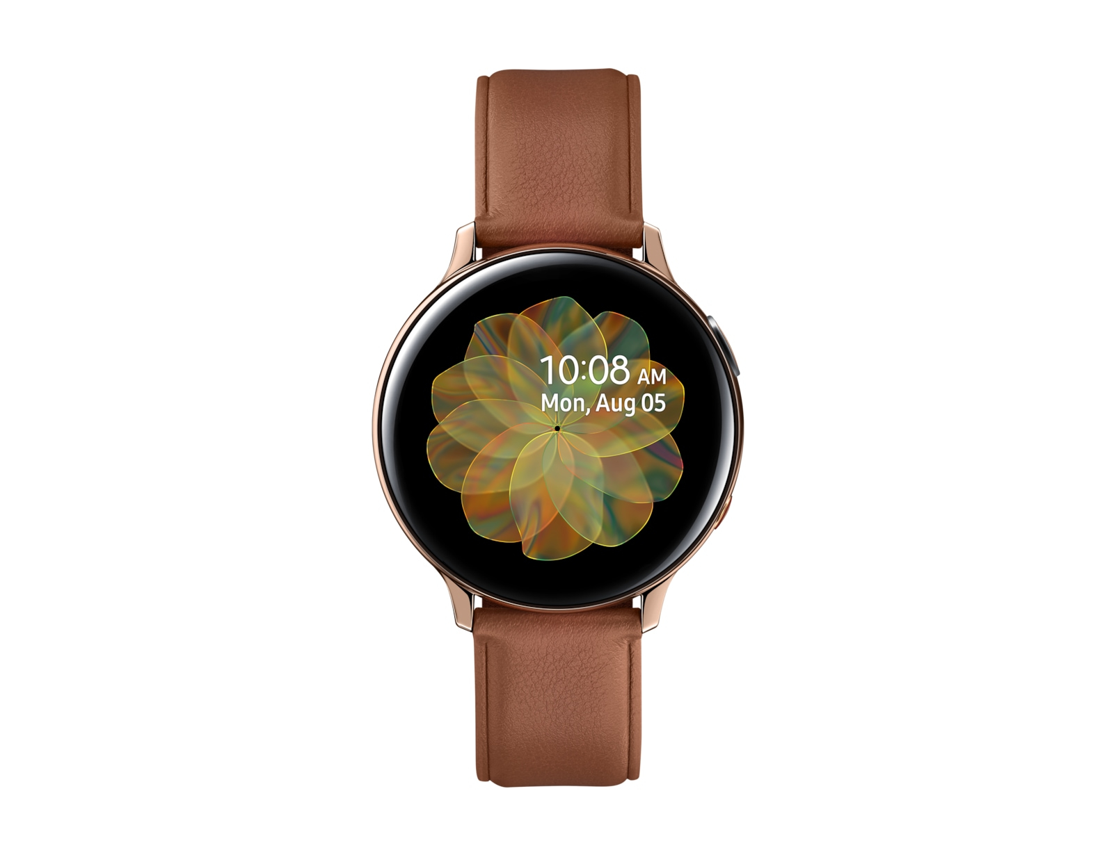 Samsung Galaxy Watch Active 2 smartwatch Gold SAMOLED 3.43 cm (1.35