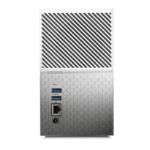 WESTERN DIGITAL My Cloud Home Duo 8TB Dual-Drive Personal Cloud Storage (NAS),RAID1,Media Server,File Sync,PC/Mac Ba