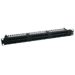 Tripp Lite 48-Port Cat6/Cat5 High Density 110 Patch Panel, 568B, RJ45 Ethernet, 1U Rack-Mount, TAA
