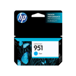 HP 951 Cyan Officejet Ink Cartridge Cyan