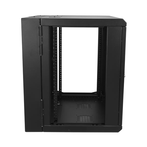 StarTech com 12U Wall-Mount Server Rack Cabinet - Up to 17 in  Deep -  Hinged Enclosure