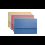 Exacompta Value Document Wallet Foolscap Assorted DW250-ASTZ (PK50)