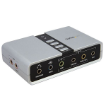 StarTech.com 7.1 USB Audio Adapter External Sound Card with SPDIF Digital AudioZZZZZ], ICUSBAUDIO7D