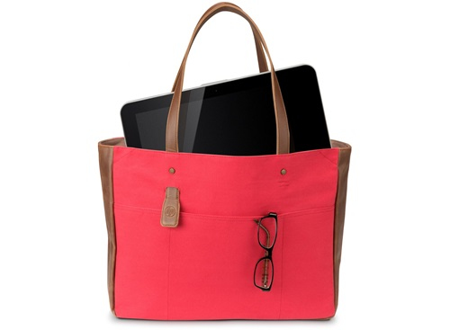 "HP 14"" Ladies Red Tote"
