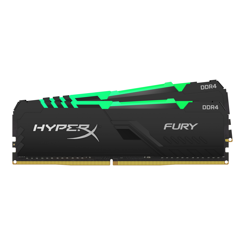 HyperX FURY HX432C16FB3AK2/32 módulo de memoria 32 GB 2 x 16 GB DDR4 3200 MHz