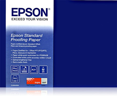 Epson Standard Proofing Paper 205 , A3++ (100 sheets)