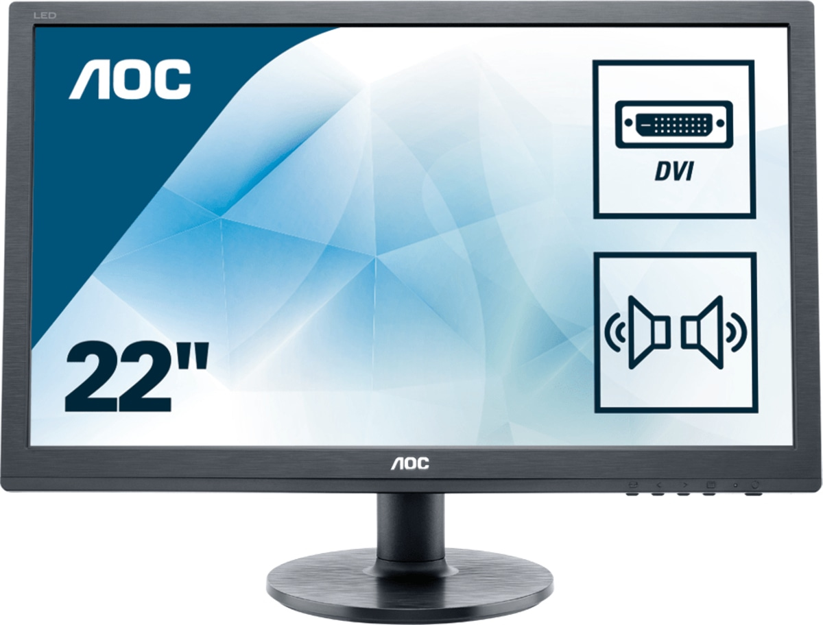 Desktop Monitor - E2260SDA - 22in - 1680x1050 (WSXGA+) - 5ms