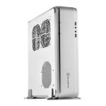Silverstone Fortress SST-FTZ01S-E Mini-ITX Case - Silver