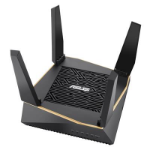 ASUS (RT-AX92U) AiMesh WiFi System AX6100 (400+867+4804) Tri-Band 802.11ax AiProtection Pro Flexible SSID