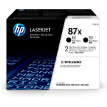 HP CF287XD (87X) Toner black, 18K pages, Pack qty 2