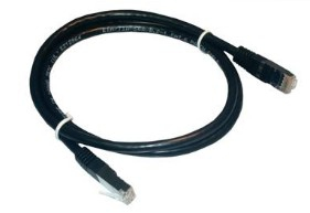 MCL FCC5EBM-3M/N cable de red Negro