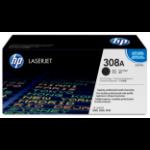 HP Q2670A (308A) Toner black, 6K pages @ 5% coverage