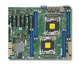 Supermicro X10DRL-i server/workstation motherboard LGA 2011 (Socket R) ATX Intel® C612