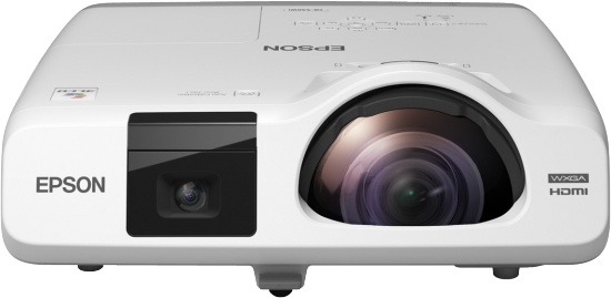Epson EB-536Wi Desktop projector 3400ANSI lumens 3LCD WXGA (1280x800) White data projector