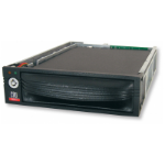 "CRU DataPort 10 HDD/SSD enclosure 2.5/3.5"" Black"
