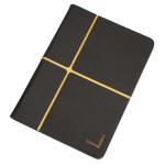 "Urban Factory Collins Folio Universal for all 10"" tablets, Dark Grey /Orange"
