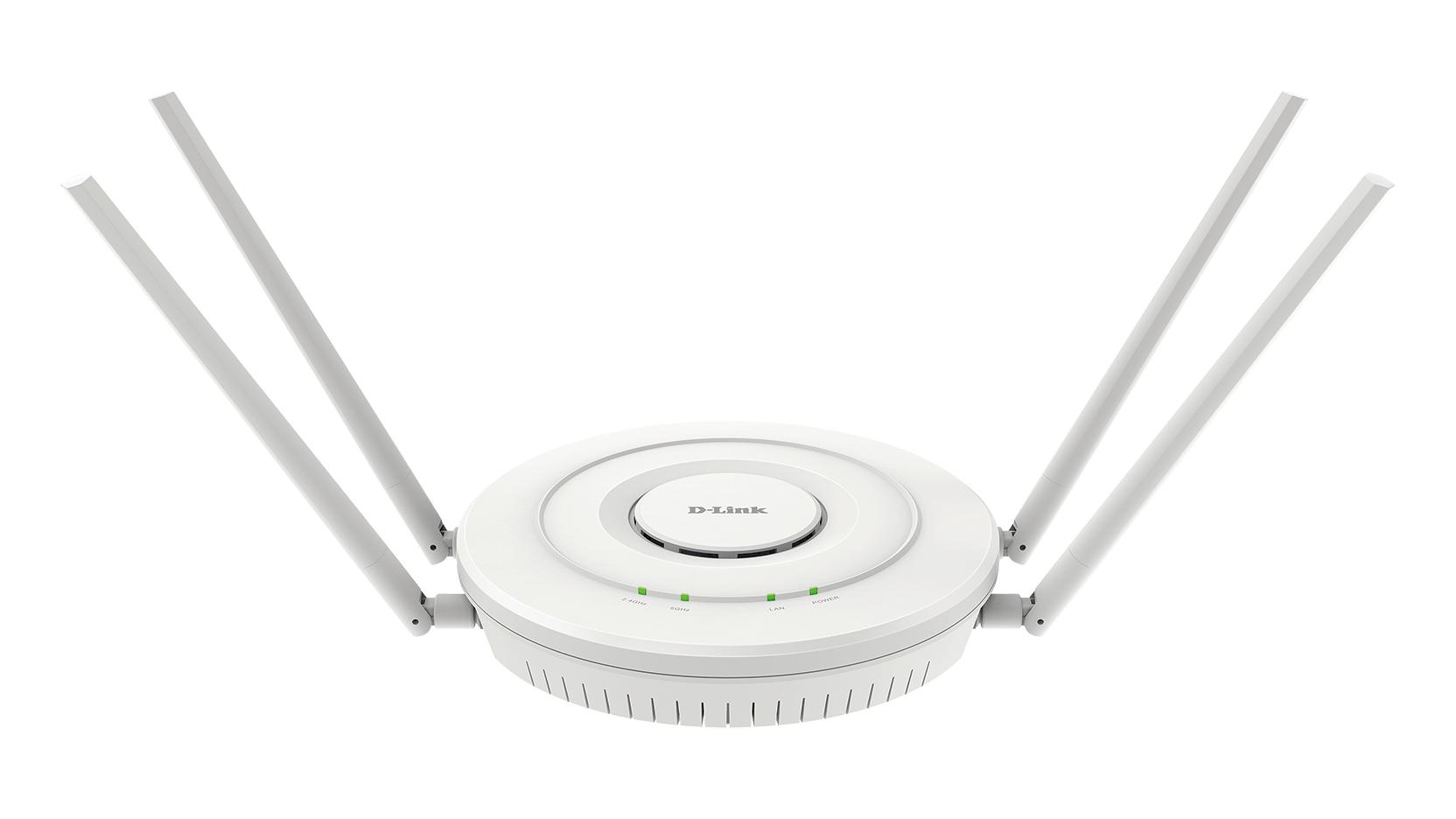 D-Link DWL-6610APE punto de acceso WLAN 1200 Mbit/s Energía sobre Ethernet (PoE) Blanco