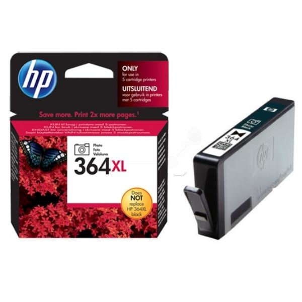 HP CB322EE (364XL) Ink cartridge black, 290 Fotos 10x15, 7ml