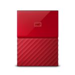 Western Digital My Passport external hard drive 1000 GB Red