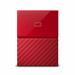 Western Digital My Passport disco duro externo 1000 GB Rojo