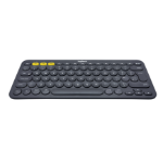 Logitech K380 keyboard Bluetooth QWERTY Turkish Black