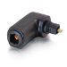 C2G Velocity Right Angle Toslink Adapter Negro