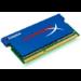 Kingston Technology HyperX 4GB, 1066MHz, DDR3, Non-ECC, Ultra LL, CL5 (5-5-5-15), SODIMM (Kit of 2), XMP