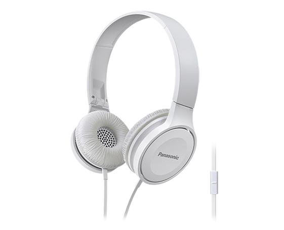 Panasonic RP-HF100ME 3.5 mm Binaural Head-band White headset